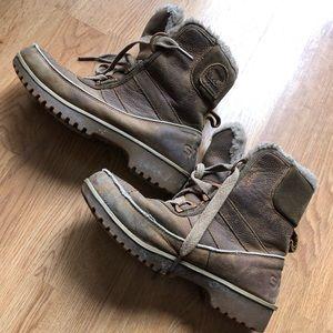 Sorel Tivoli brown winter boots size 7